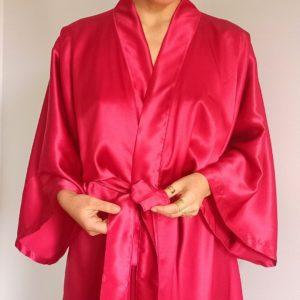 détail ceinture nouée sur kimono