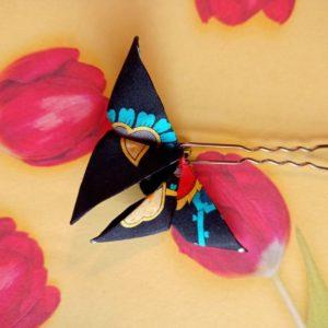 origami papillon en soie