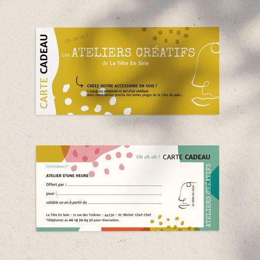 Carte cadeau des Ateliers Créatifs