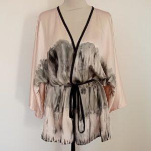 Kimono soie femme